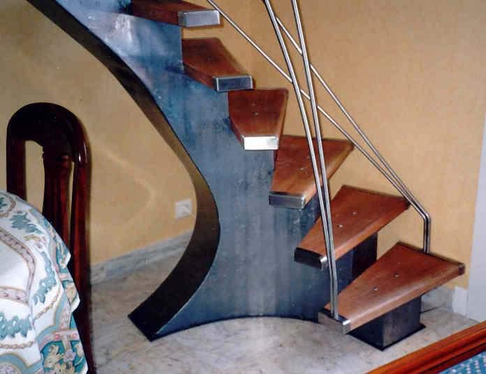 escalier design. Black Bedroom Furniture Sets. Home Design Ideas